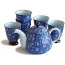 Conjunto de Té Saikai - Tetera y 5 tazas