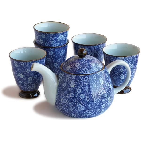 Conjunto de te de cer mica japonesa saikai for Tazas para te